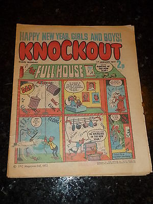 KNOCKOUT Comic - Date 01/01/1972 - UK Paper Comic