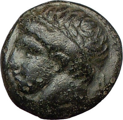 Philip II Alexander the Great Dad OLYMPIC GAMES Ancient Greek Coin Horse i23742
