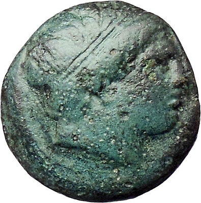 Philip II Alexander the Great Dad OLYMPIC GAMES Ancient Greek Coin Horse  i29729