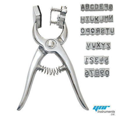 YNR 0 to 9 A to Z Tattoo Plier Veterinary Equipment Farming Sheepskin Cattle