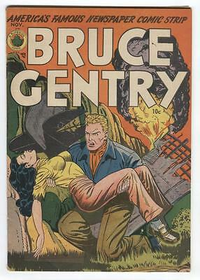 Bruce Gentry #2 Classic Headlight cover, Art by Roy Bailey (1948) Nice Copy!