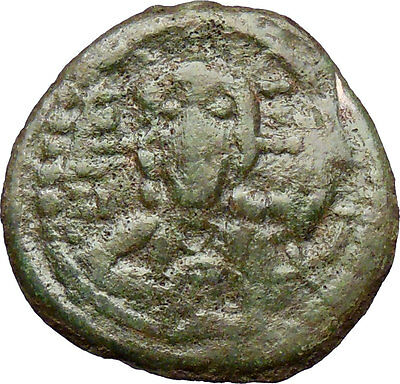 JESUS CHRIST 1068AD Ancient Medieval Byzantine Christian Coin Romanus IV i28887