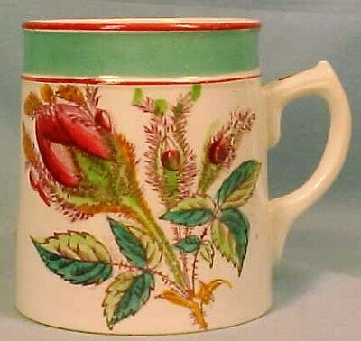 Briar Rose Child's Mug Hand Painted Antique Cup Colorful  A Beauty