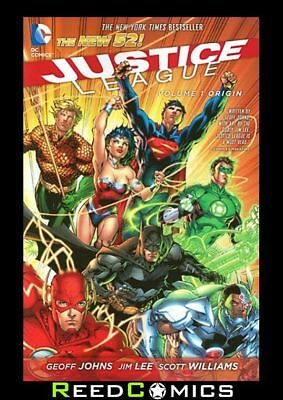 JUSTICE LEAGUE VOLUME 1 ORIGIN GRAPHIC NOVEL New Paperback Collects (2011) #1-6