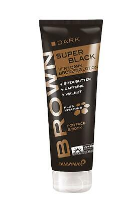 Tannymaxx Dark Super Black Very Dark Bronzing Lotion Sunbed Cream Tannymax 125ml