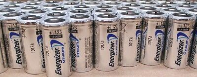 400 New Energizer Lithium Cr123 Cr123A 123 123A 3V Battery Exp.2028 Free Ship