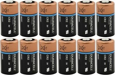 DURACELL CR2 3v Lithium Photo Batteries 12 Pack