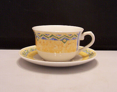 Churchill Ports of Call Herat Cup & Saucer / Jeff Banks
