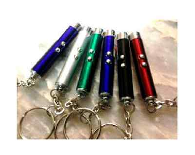 Interactive Mini Laser Light Toy for Dogs, keychain::USA SELLER:: Fast Shipping!