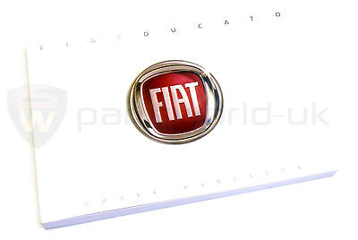 Fiat Ducato 2006-2013 Owners Manual / Hand book  60381357 New & GENUINE
