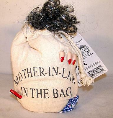 MOTHER IN LAW IN A BAG novelty funny joke prank gag sound activated skaking NEW
