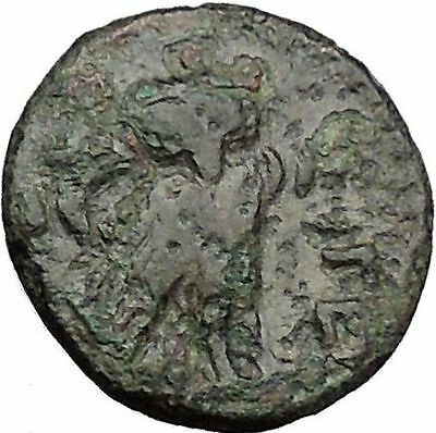 SIGEION Athens Greece Colony 350BC Facing Athena & Owl ANcient Greek Coin i31776