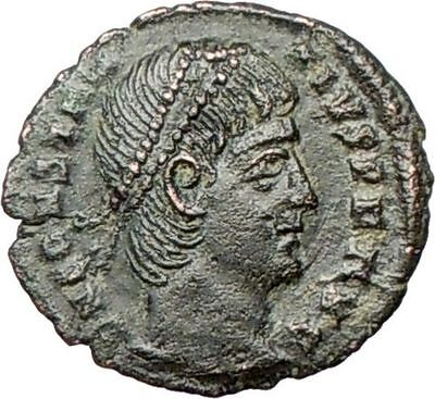 Constantius II  son of Constantine the Great  Ancient Roman Coin Wreath  i27995