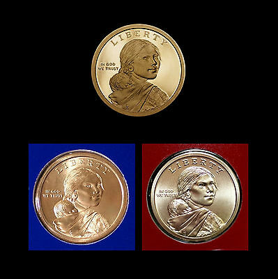 2013 P+D+S Native American Sacagawea Mint Proof Set ~ PD in Mint Wrappers