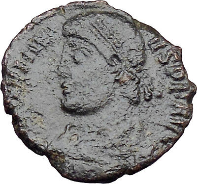 JOVIAN 363AD Very Rare Genuine  Authentic  Ancient Roman Coin WREATH  i29961
