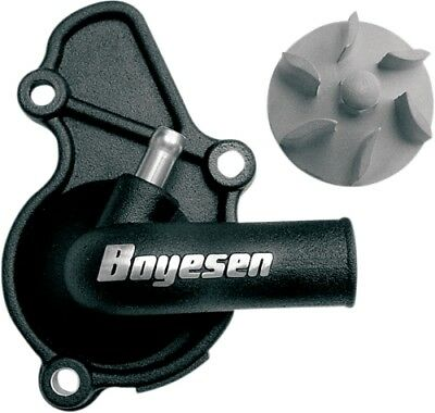 Boyesen WPK-08B Water Pump Cover Impeller 2004-2005 Honda TRX450R Black WPK-08B