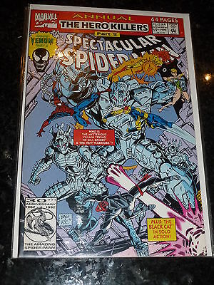 THE SPECTACULAR SPIDER-MAN Comic - 1992 ANNUAL- Vol 1 No 12 - Date 1992 Marvel