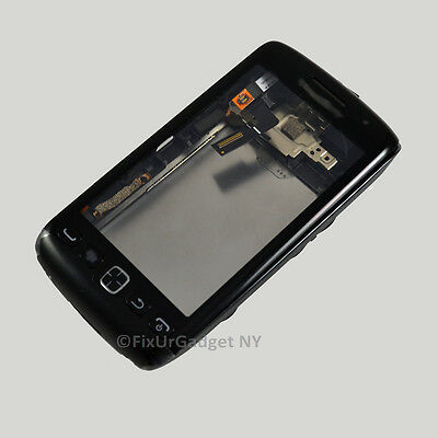 BlackBerry Torch 9850, 9860 Full Housing Case + Trackpad + Digitizer Parts USA