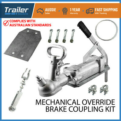 Mechanical Override Brake Coupling Cable Kit- Caravan Camper Trailer