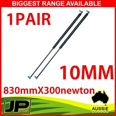 Gas Strut 830mm-300N x2 (10mm Shaft) Caravans, Camper Trailers, Canopy,Toolboxes