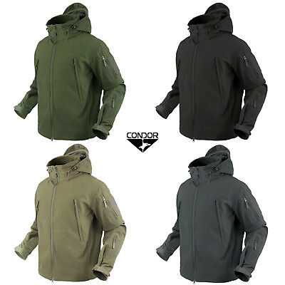 Condor 602 Tactical Summit SoftShell Patrol Jacket Cold Weather YKK with Patch