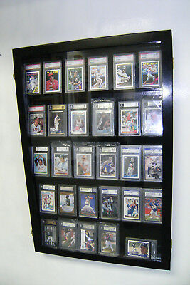 Graded Baseball Card display Case DEEP 30 PSA Beckett