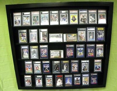 Card Display Case for Graded PSA Cards Beckett Deep holds 50