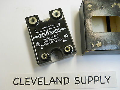 Opto 22 240D10 Solid State Relay 3-32 Vdc New Condition In Box