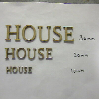 Miniature Letters for making Signs   30mm high  DHD980