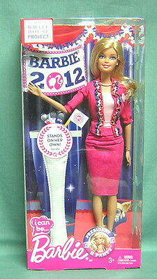Barbie I Can Be....2012 The White House Project