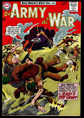 1964 DC Our Army at War #143 FN