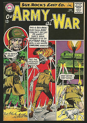 1965 DC Our Army at War #150 FN to VF