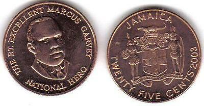 Jamaica: 100 Pieces Choice Uncirculated 25 Cents, Km167