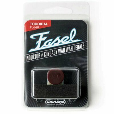 NEW! Dunlop RED Fasel Cry Baby Inductor - FL02R - Cleanest Wah Tone6