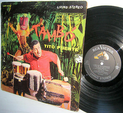 TITO PUENTE Tambo Savage Drums US RCA Living Stereo LSP-2257