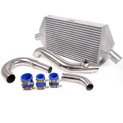 Alloy Front Mount Intercooler Kit Fmic For Mitsubishi Evo 7 8 9 Vii Viii Ix 01+