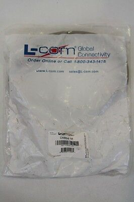 New Genuine Oem L-Com Cmb24-1M Molded Grade Ieee-488 Gpib Cable 3.3 Feet