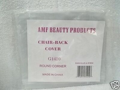 AMF BEAUTY PRODUCTS Clear Vinyl Chair Back Protection Cover ~G1410 Round Corner