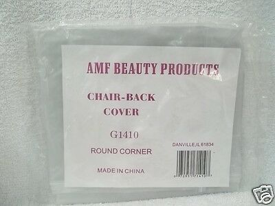 AMF BEAUTY PRODUCTS STYLING CHAIR Clear Protection Cover ~ G 1410 Round Corner