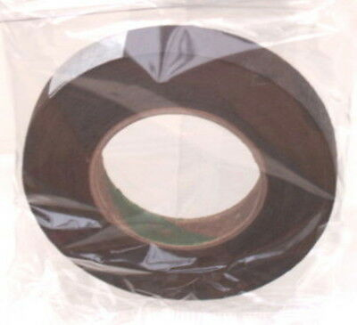 3 Reels Of Brown Floral Florist Tape Waterproof Buttonholes Stemwrap