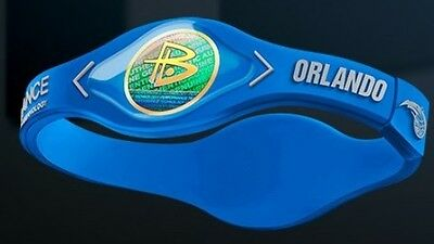 Braccialetto Power Balance Nba-Orlando Magic-Gordon-Vucevic-Hezonja-S/m/l/xl