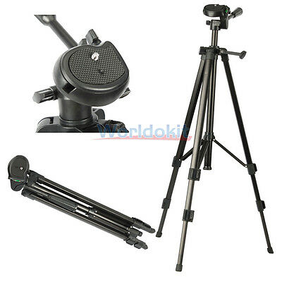 Professional Video Camera Camcorder Tripod Stand for Nikon D5100 D3100 D3000 New