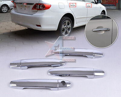 Chrome Door Handle Cover Trim for Toyota Camry 2002-2006 Yaris 2006-2010 Corolla