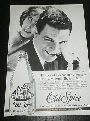 1962 - Ad Publicite Anuncio - Old Spice - After Shave - Spanish Magazine - 2955