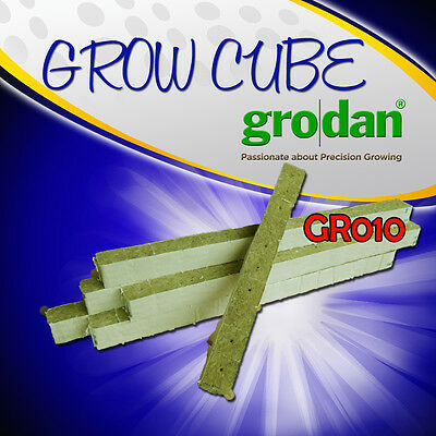 GRODAN Hydroponics GROW CUBES With or Without hole grow medium(40X40 or 75X75mm)