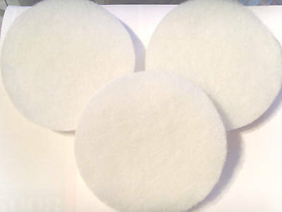 "5 X Compatible Fluval Fx6/5 Polishing Pads "" New """