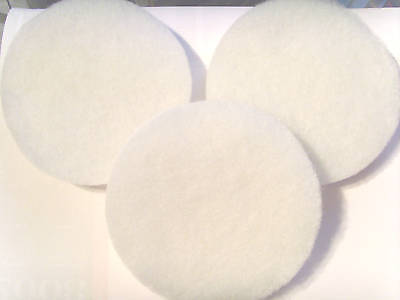 "6 X Fluval Fx5/6  Compatible Polishing Pads "" New """