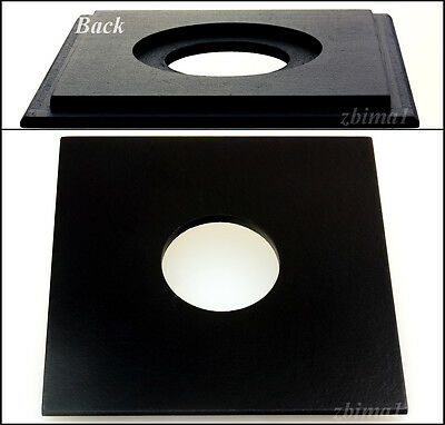 "1 Lens Board 5.2"" x 5.2"" for Burke&James 5 x 7"",or 4 x 5""- undrilled/ free holes"