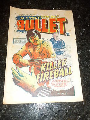 BULLET Comic - Issue 7 - Date 27/03/1976 - UK Paper Comic