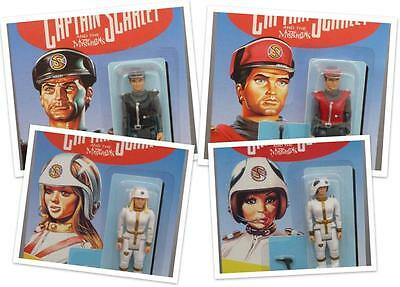Captain Scarlet Figures Gerry Anderson Vivid Imaginations Many to Choose From